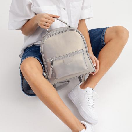 Рюкзак ROKKY, серый перламутр