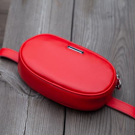 Поясная сумка, красный