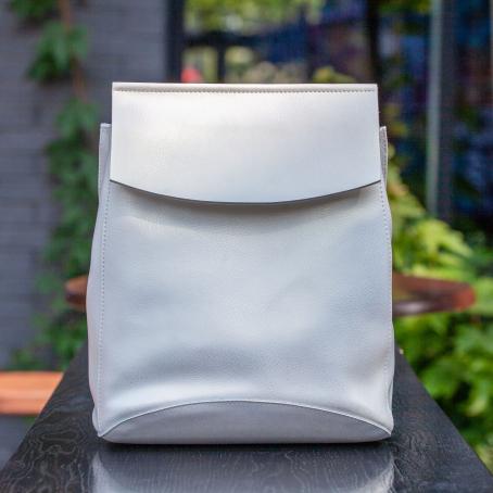 Рюкзак SATCHEL, белый перламутр