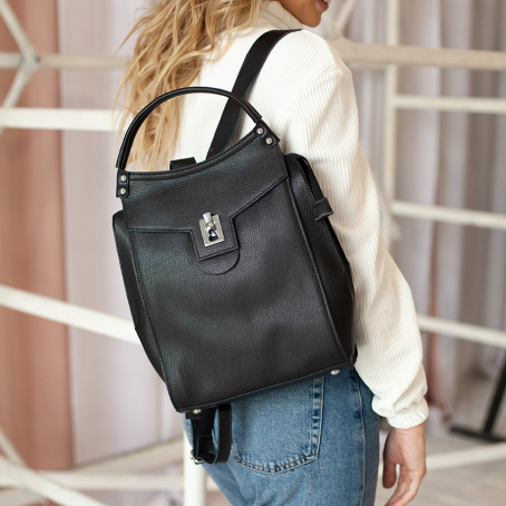 Рюкзак AMORE, черный