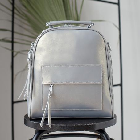 Рюкзак BETTY, серый перламутр