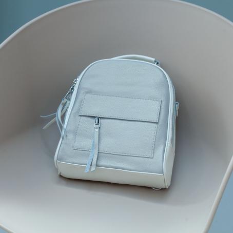 Рюкзак BETTY, серебро-белый