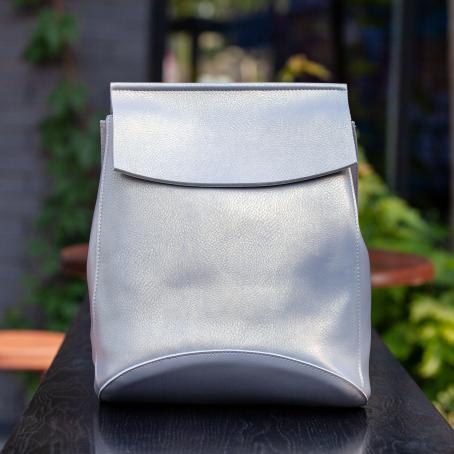 Рюкзак SATCHEL, серый перламутр
