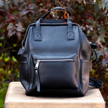 Рюкзак URBAN zip, черный