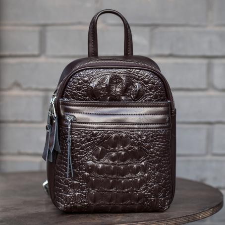Рюкзак CLAPS, коричневый