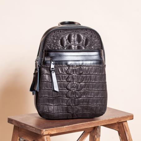 Рюкзак CLAPS, замша черный