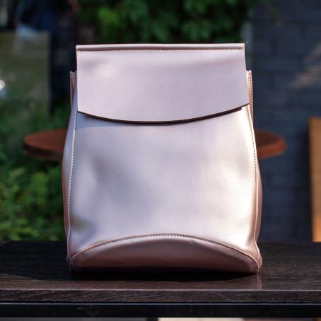 Рюкзак SATCHEL, розовый металлик