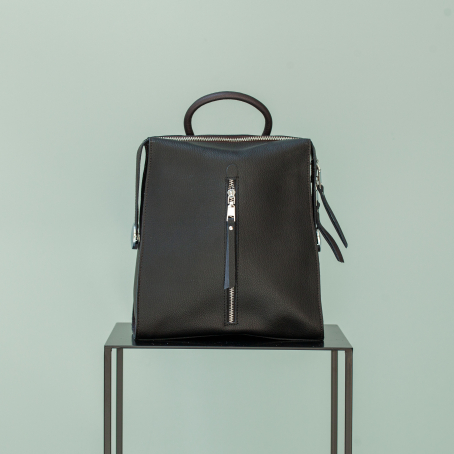 Рюкзак LAVI zip, черный-кофе